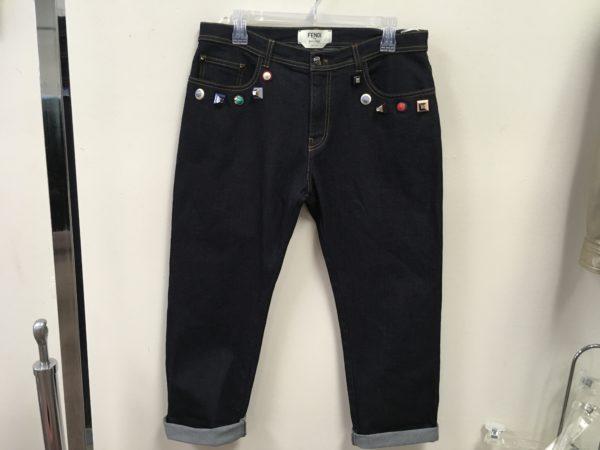 Fendi (Roma Special Edition) Boyfriend Jeans